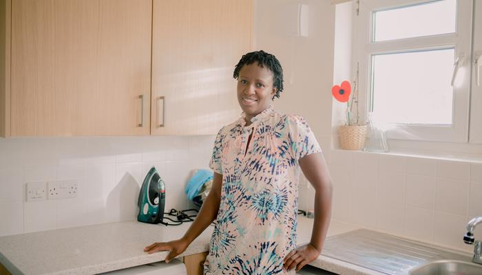 We install 67 new kitchens for Housing for Women residents